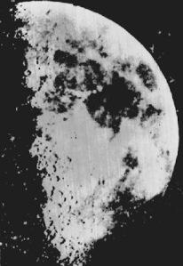 1st photo of moon